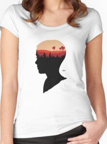 011 Women's Fitted Scoop T-Shirt