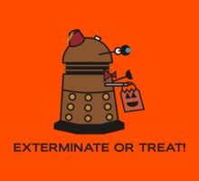 Exterminate or Treat - Full Color by NevermoreShirts