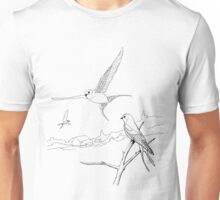 Swift or Swallow U Decide Color Project.  Unisex T-Shirt