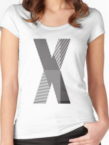 X Women's Fitted Scoop T-Shirt
