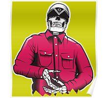 Street Gang Skull Poster