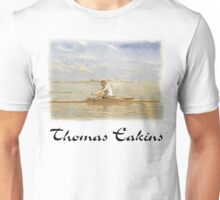 Thomas Eakins - John Beglin in Single Scull Unisex T-Shirt