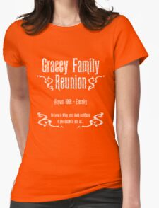 Gracey Family Reunion Womens Fitted T-Shirt