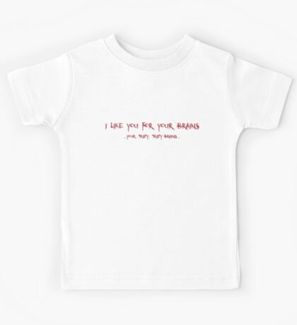For Your Brains Kids Tee