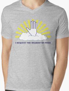 The Highest of Fives Mens V-Neck T-Shirt