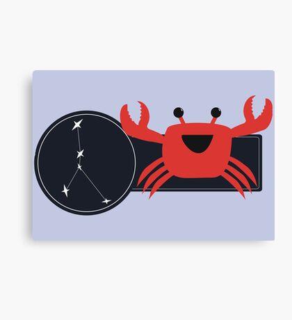 Li'l Cancer Crab Canvas Print