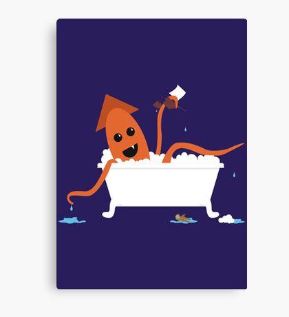 Li'l Kraken Canvas Print