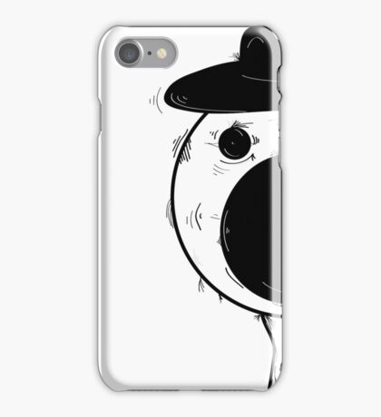 crazy eyes - hat  iPhone Case/Skin