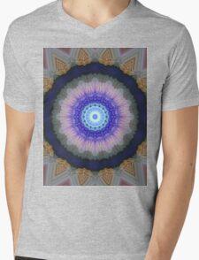 BLUE 1 Mens V-Neck T-Shirt