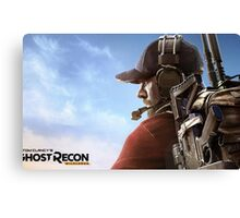 Ghost Recon Tom Clancy's Canvas Print
