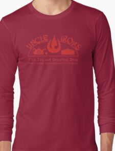 Uncle Iroh's Fine Tea Shop Long Sleeve T-Shirt