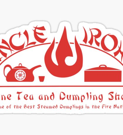 Uncle Iroh's Fine Tea Shop Sticker