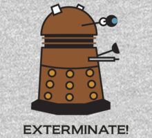 Li'l Dalek One Piece - Short Sleeve