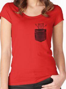 Doodle Bob | Pocket full of Hugs Women's Fitted Scoop T-Shirt