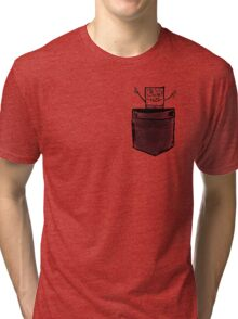 Doodle Bob   Pocket full of Hugs Tri-blend T-Shirt