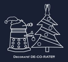 A Very Dalek Christmas - Dark One Piece - Short Sleeve