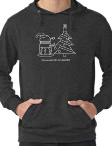 A Very Dalek Christmas - Dark Lightweight Hoodie