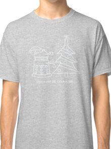 A Very Dalek Christmas - Dark Classic T-Shirt