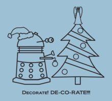 A Very Dalek Christmas - Light Kids Tee