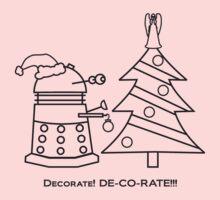 A Very Dalek Christmas - Light One Piece - Short Sleeve