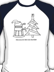 A Very Dalek Christmas - Light T-Shirt