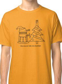 A Very Dalek Christmas - Light Classic T-Shirt
