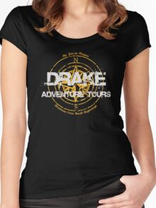 Drake Adventure Tours Women's Fitted Scoop T-Shirt