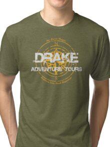 Drake Adventure Tours Tri-blend T-Shirt