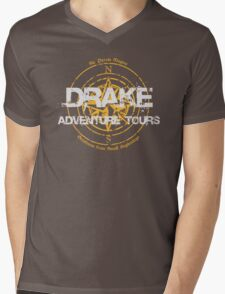 Drake Adventure Tours Mens V-Neck T-Shirt