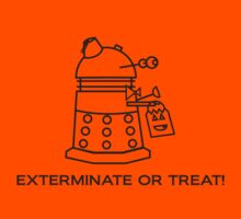 Exterminate or Treat!!! - Light Shirt by NevermoreShirts