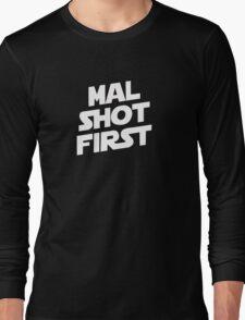 Mal Shot First Long Sleeve T-Shirt