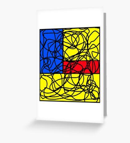 Colorful pattern Greeting Card