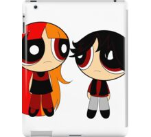 POWER GIRL AND BOY iPad Case/Skin