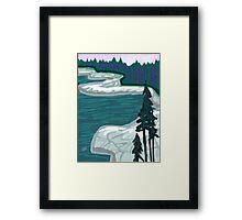 DUCK HARBOR MOUNTAIN TRAIL / IAH  Framed Print