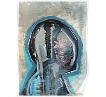 Abstract Anatomy Painting Merch. Poster