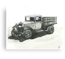 Old Pickup Truck - www.jbjon.com Canvas Print
