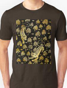 Tiger, jungle animal pattern Unisex T-Shirt