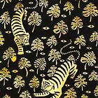 Tiger, jungle animal pattern by zsalto