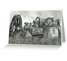 Abandoned Mining Equipment - www.jbjon.com Greeting Card