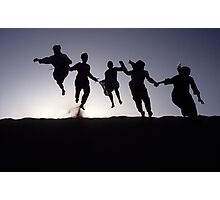 First inofficial dune-jumping World-Championships... Photographic Print