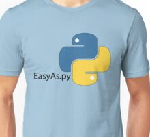 Easy as Py Unisex T-Shirt