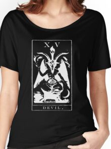 Devil Tarot XV Women's Relaxed Fit T-Shirt