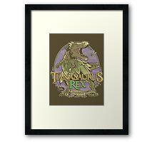 PREHISTORIC PRINCESS - Tianasaurus Rex Framed Print