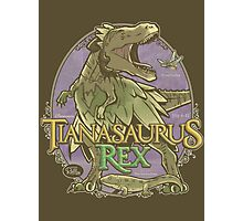 PREHISTORIC PRINCESS - Tianasaurus Rex Photographic Print