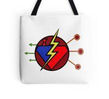 DC TV - Maroon Tote Bag