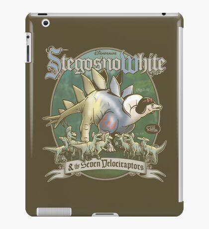 PREHISTORIC PRINCESS - StegosnoWhite & The Seven Velociraptors iPad Case/Skin