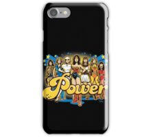 Women of 70s TV - POWER! iPhone Case/Skin