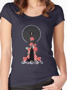An Unfound Door Women's Fitted Scoop T-Shirt