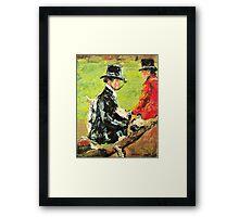 The Foxhunt Framed Print
