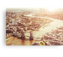 tower bridge aerial Metal Print